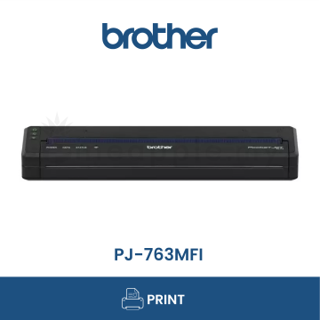 BROTHER PJ-763Mfi A4 Mobile Thermal Printer with Bluetooth for IOS