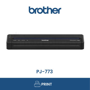 BROTHER PJ-773 A4 Mobile Thermal Printer with Wifi & Airprint Support