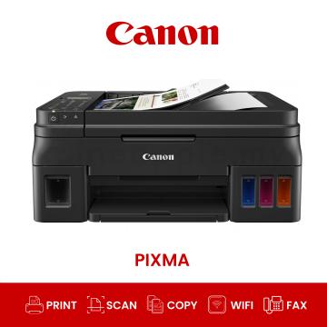 CANON Pixma G4010 AIO Wifi Fax Refillable Ink Tank Printer