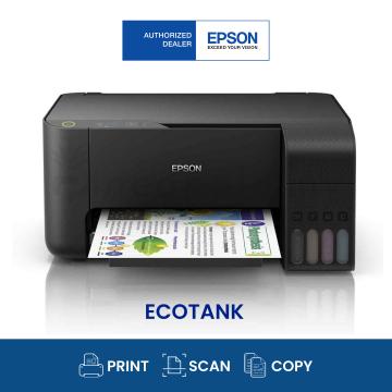 EPSON EcoTank L3110 AIO Ink Tank Printer (Black)