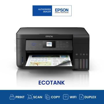 EPSON EcoTank L4160 AIO Wifi Duplex Ink Tank Printer