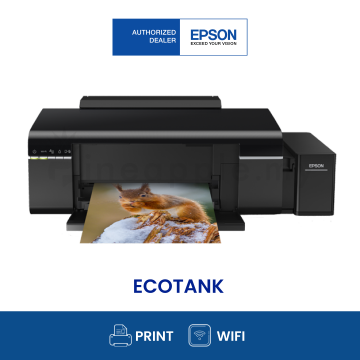 EPSON L805 Wifi 6-color Ink Tank Photo Printer