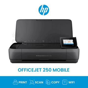 HP OfficeJet 250 Mobile AIO Wifi Inkjet Printer (CZ992A)