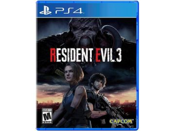 RESIDENT EVIL 3 REMAKE (PS4/R3/ENG,CHN)