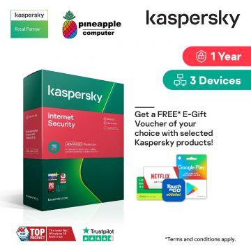 KASPERSKY Internet Security Software 1 Device 1 Year (KIS1U1Y)