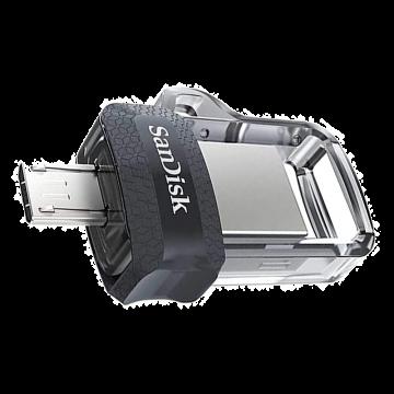 SANDISK Ultra Dual Drive m3.0 128GB USB3.0 OTG Flash Drive (SDDD3-128G-G46)