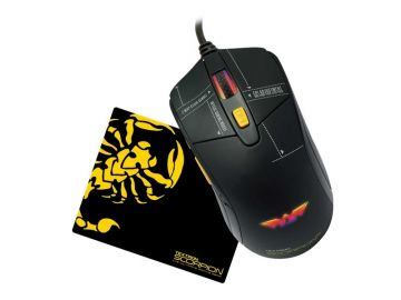 Armaggeddon Scorpion 5 RGB Gaming Mouse 4800CPI (Free Gaming Mousemat)