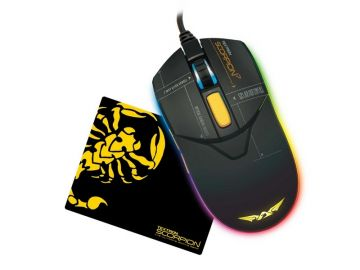 Armaggeddon Scorpion 7 RGB Gaming Mouse 4800CPI (Free Gaming Mousemat)