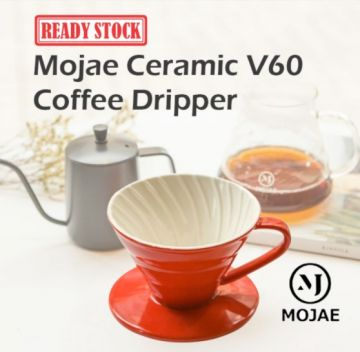 MOJAE Ceramic V60 Pour Over Coffee Dripper
