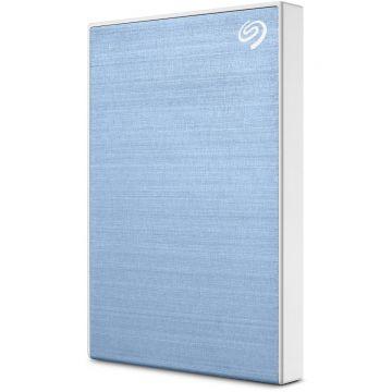 SEAGATE Backup Plus Slim 1TB USB3.0 Portable External Hard Drive (STHN1000402) (Blue)