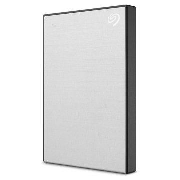 SEAGATE Backup Plus Slim 1TB USB3.0 Portable External Hard Drive (STHN1000401) (Silver)