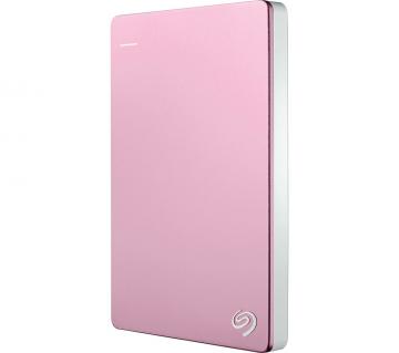 SEAGATE Backup Plus Slim 2TB USB3.0 Portable External Hard Drive (STHN2000405) (Rose Gold)