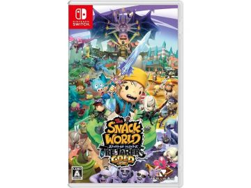 Snack World : The Dungeon Crawl Gold - (Nintendo Switch)