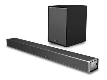 Vinnfier Hyperbar 800 BTR Bluetooth Sound Bar With Subwoofer Wireless AUX HDMI & Optical Input USB Drive, Remote Control