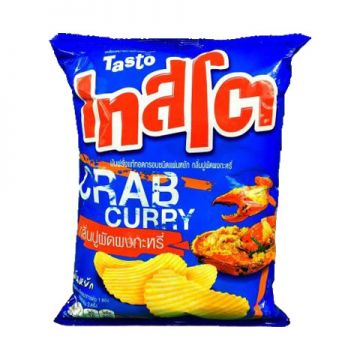 Thai Tasto Potato Chips - Flavour Crab Curry 52g