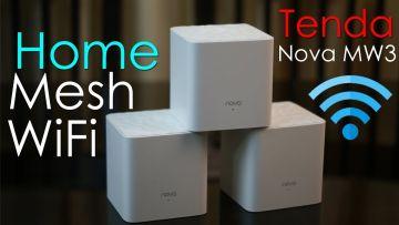 Tenda nova MW3 ( 3 pcs Pack ) AC1200 Whole Home Mesh Wifi System
