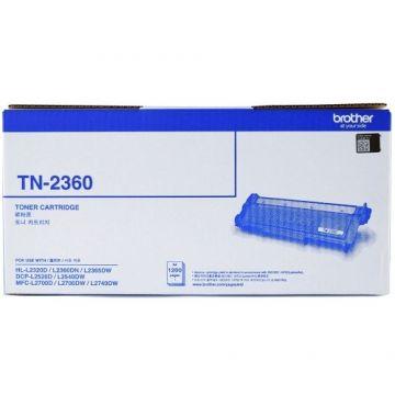 BROTHER TN-2360 Black Toner Cartridge (1,200 pages) (TN2360 / TN2380 / DR2355)