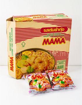 Thai MAMA Instant Noodle - Flavour Tom Yum Shrimp 1 Box [30packs]