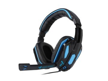 VINNFIER TOROS 1 Gaming Headphone Extra Bass and Stereo Sound for Mobile and Desktop (BLUE)