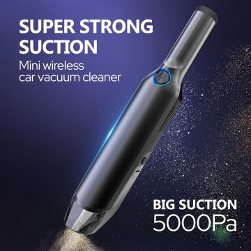 Licheers (LC-256) Portable Rechargeable 5000Pa Strong Suction Vacuum Cleaner