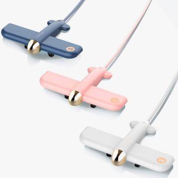VAREO Air Force One USB Hub (White/Pink/Blue)
