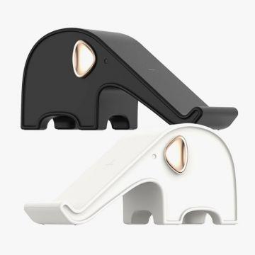 VAREO Elephant Power Wireless Charger (White/Black)