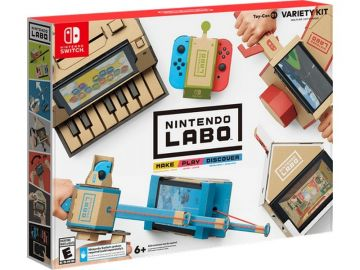 Nintendo Switch Labo Variety Kit (Toy-Con 01)