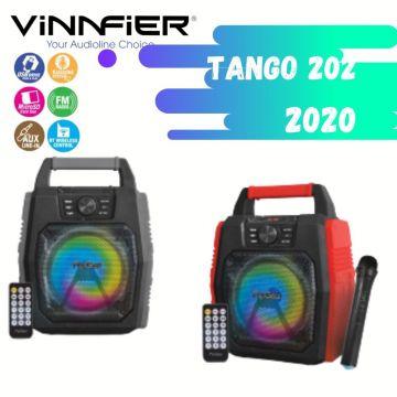 VINNFIER Tango 202 WM 2020 30W TWS Portable Wireless Bluetooth Speaker (Black / Red)