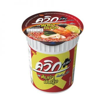 THAILAND WAI WAI Cup Noodle - Flavour Chilli Paste Tom yum 60g