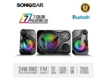 SonicGear Titan 3 BTMI USB Bluetooth Portable Music Synchronized Light Display Speaker