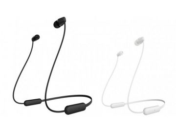 Sony WI-C200 Wireless In-ear Earphones Headphones with Magnetic Earbuds Supports Siri & Google Assistant