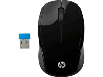 HP Wireless Mouse 200 (Black) (X6W31AA)