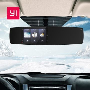 YI Mirror Car Dash Camera