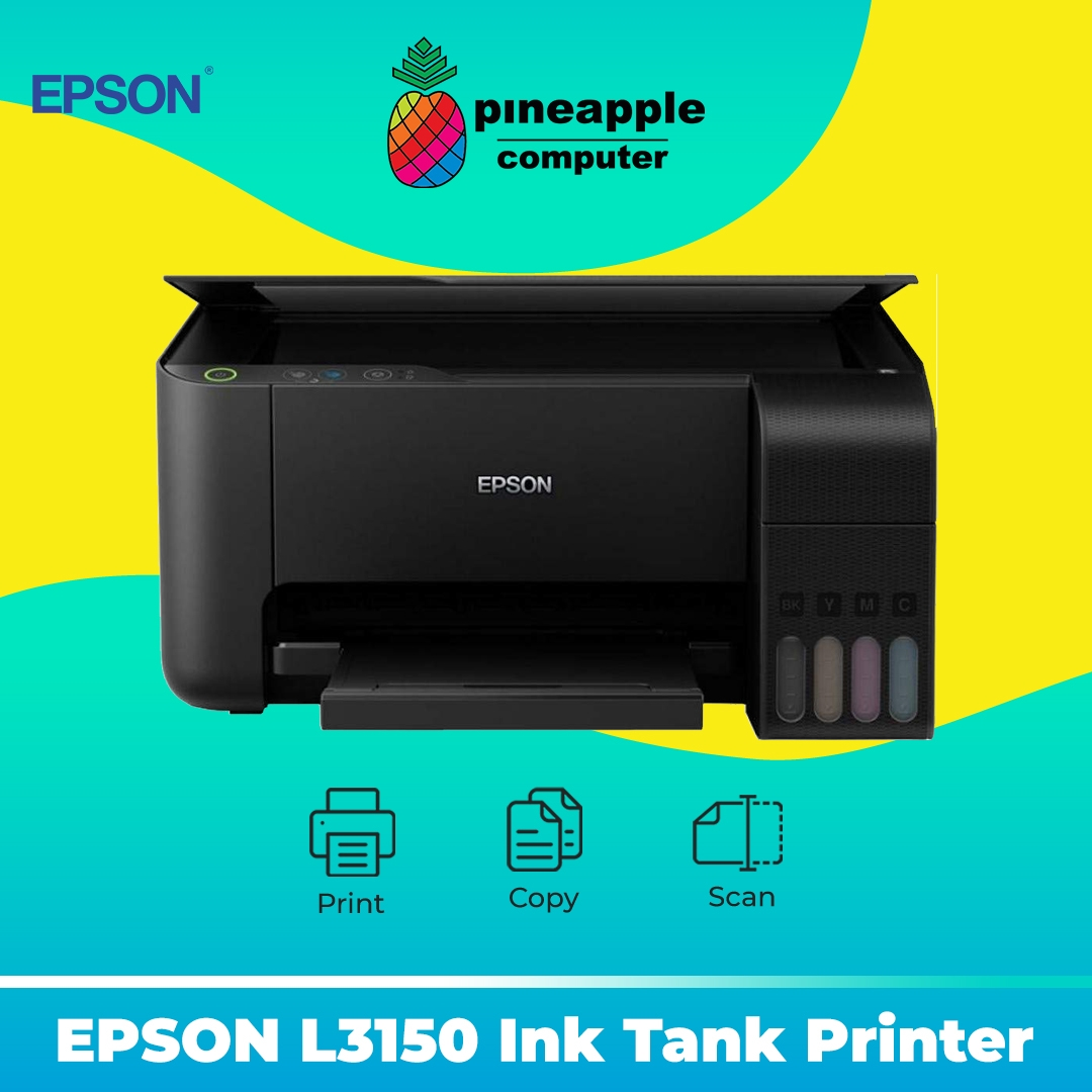 EPSON EcoTank L3150 AIO Wifi Ink Tank Printer