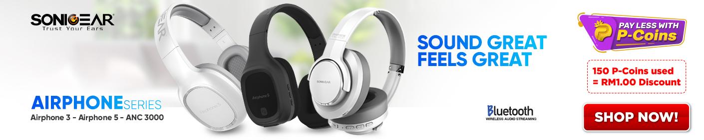 SonicGear-Headset